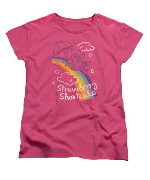 Strawberry Shortcake - Rainbow Women's T-Shirt (Standard Cut) by Brand A