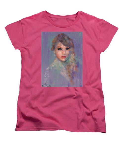 Taylor Women's T-Shirt (Standard Cut) by Scott Bowlinger