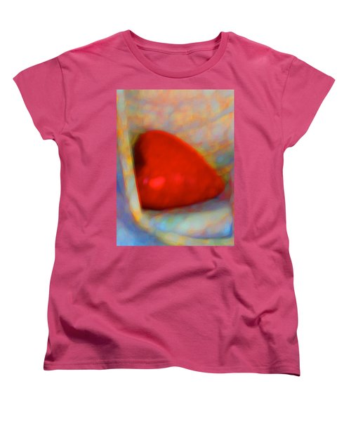 Women's T-Shirt (Standard Cut) featuring the digital art Abundant Love by Richard Laeton