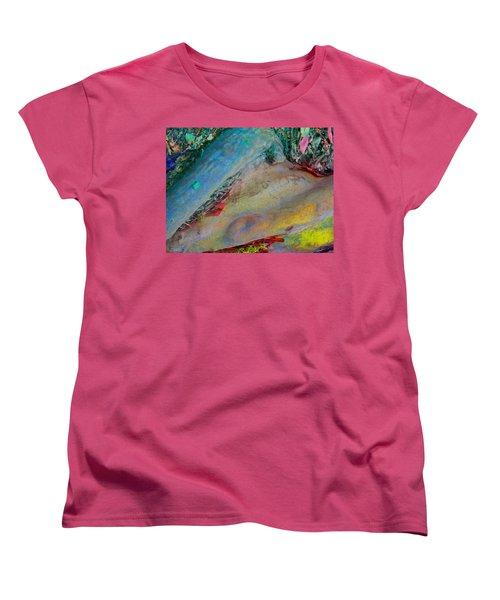 Women's T-Shirt (Standard Cut) featuring the digital art Inner Peace by Richard Laeton