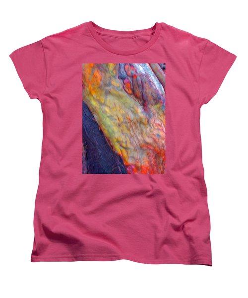 Women's T-Shirt (Standard Cut) featuring the digital art Mystics Of The Night by Richard Laeton