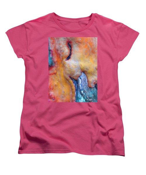 Women's T-Shirt (Standard Cut) featuring the digital art Sacred by Richard Laeton