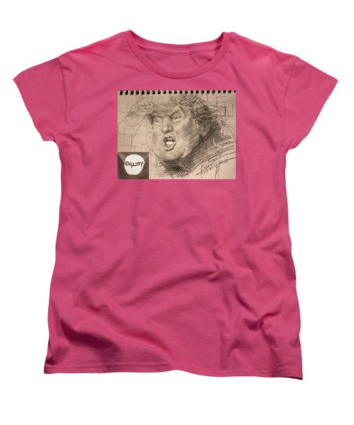Trump Women's T-Shirt (Standard Cut) by Ylli Haruni