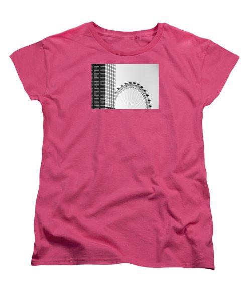 London Eye Women's T-Shirt (Standard Cut) by Joana Kruse