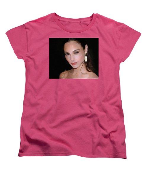 Gal Gadot Women's T-Shirt (Standard Cut) by Best Actors