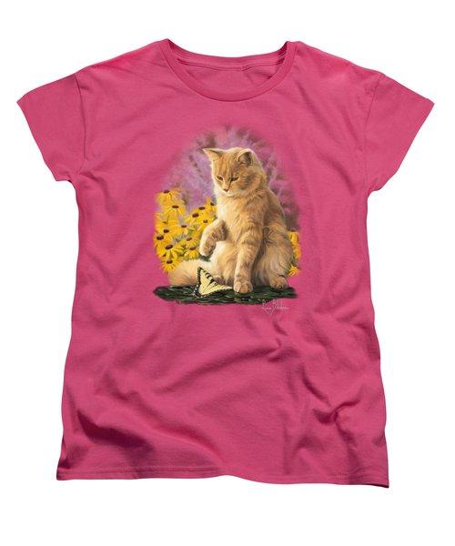 Archibald And Friend Women's T-Shirt (Standard Cut) by Lucie Bilodeau