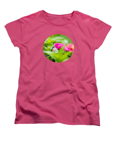 Pretty Garden Jewel Women's T-Shirt (Standard Cut) by Christina Rollo