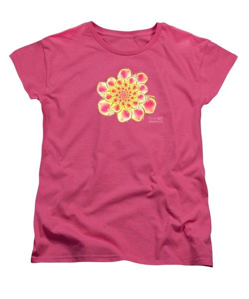 Lotus Women's T-Shirt (Standard Cut) by Anastasiya Malakhova