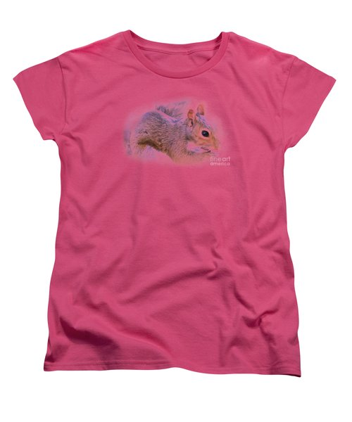 Another Peanut Please - Squirrel - Nature Women's T-Shirt (Standard Cut) by Barry Jones
