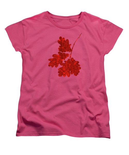 Berlin Classic Map Women's T-Shirt (Standard Cut) by Jasone Ayerbe- Javier R Recco