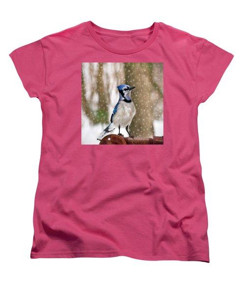 Blue For You Women's T-Shirt (Standard Cut) by Evelina Kremsdorf