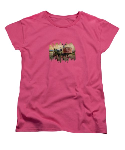 Buffalo Pitts Women's T-Shirt (Standard Cut) by Thom Zehrfeld