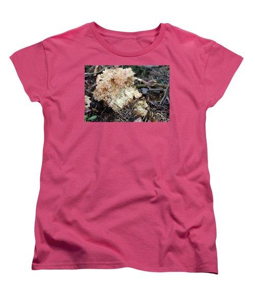 Cauliflower Fungus Women's T-Shirt (Standard Cut) by Michal Boubin