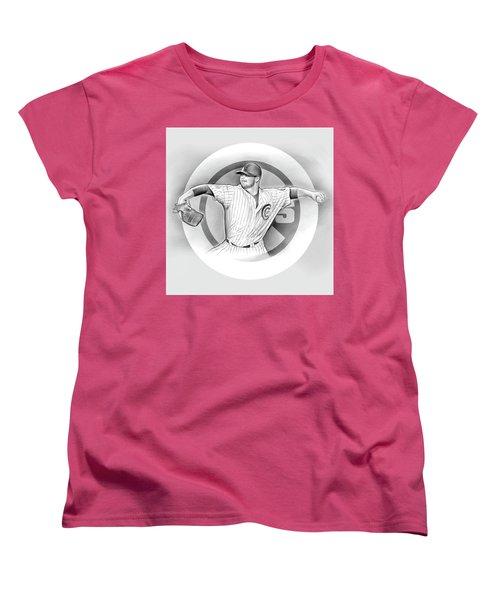 Cubs 2016 Women's T-Shirt (Standard Cut) by Greg Joens