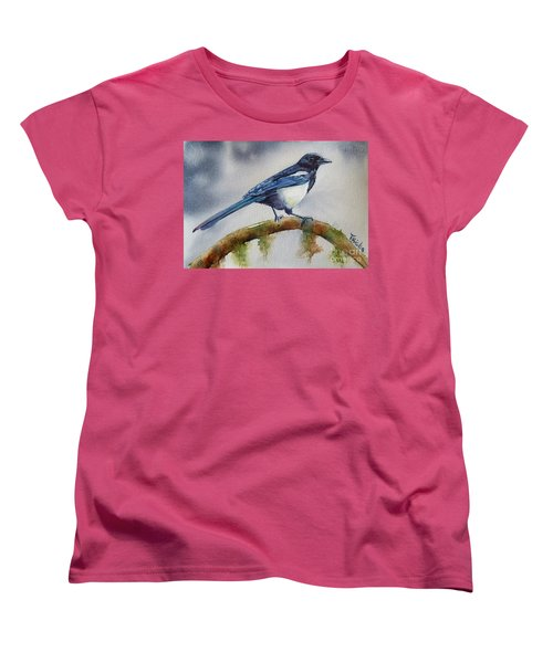 Goldigger Women's T-Shirt (Standard Cut) by Patricia Pushaw