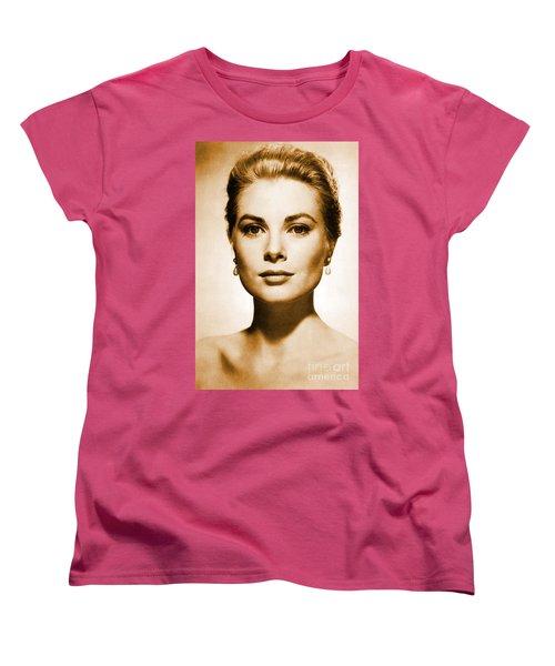 Grace Kelly Women's T-Shirt (Standard Cut) by Opulent Creations