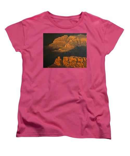 Grand Canyon Meditation Women's T-Shirt (Standard Cut) by Jim Thomas