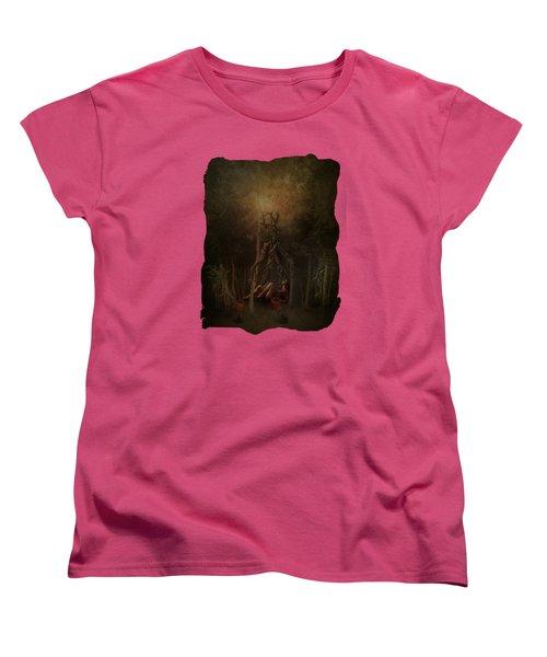 Guardians Of The Forest Women's T-Shirt (Standard Cut) by Terry Fleckney
