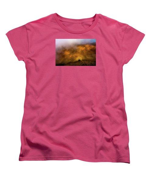 Women's T-Shirt (Standard Cut) featuring the photograph Haleakala Halo by M G Whittingham
