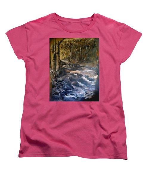 La Rance Women's T-Shirt (Standard Cut) by Silk Alchemy