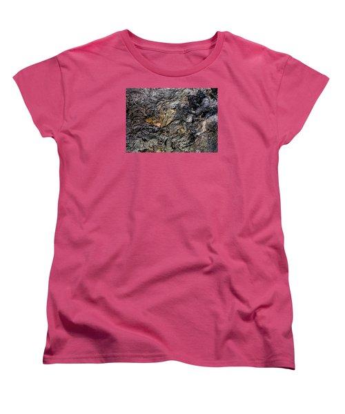 Women's T-Shirt (Standard Cut) featuring the photograph Lava by M G Whittingham