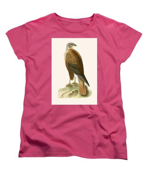 Long Legged Buzzard Women's T-Shirt (Standard Cut) by English School