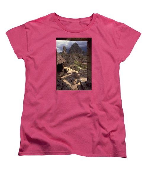Women's T-Shirt (Standard Cut) featuring the photograph Machu Picchu by Travel Pics