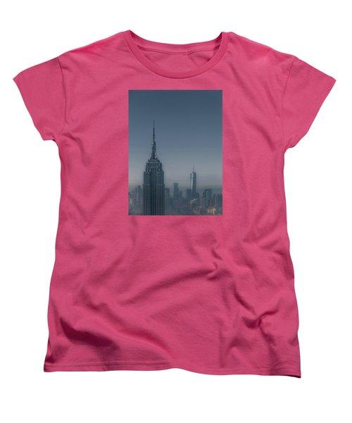 Morning In New York Women's T-Shirt (Standard Cut) by Chris Fletcher