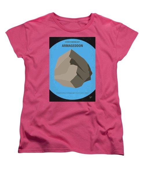 No695 My Armageddon Minimal Movie Poster Women's T-Shirt (Standard Cut) by Chungkong Art
