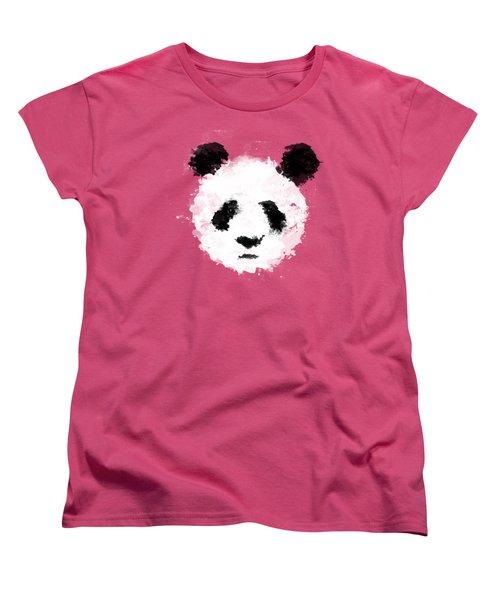 Panda Women's T-Shirt (Standard Cut) by Mark Rogan
