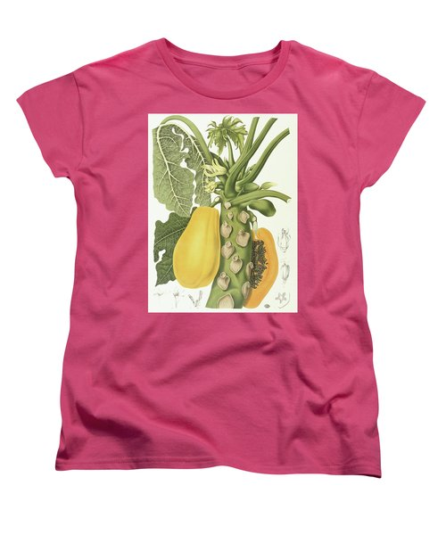 Papaya Women's T-Shirt (Standard Cut) by Berthe Hoola van Nooten