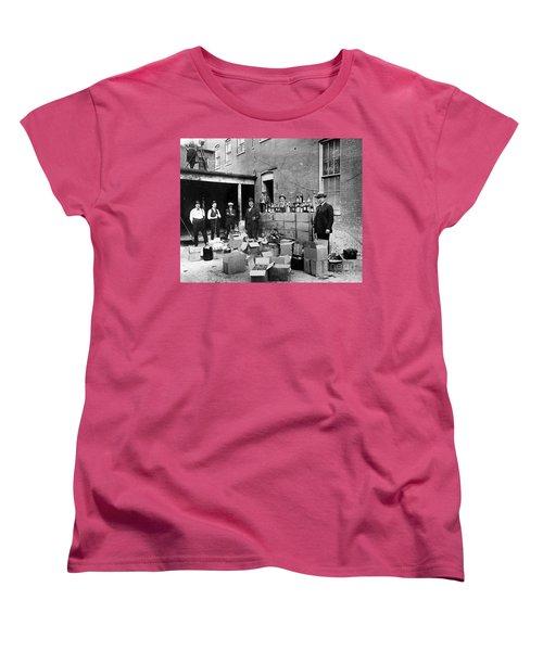 Prohibition, 1922 Women's T-Shirt (Standard Cut) by Granger