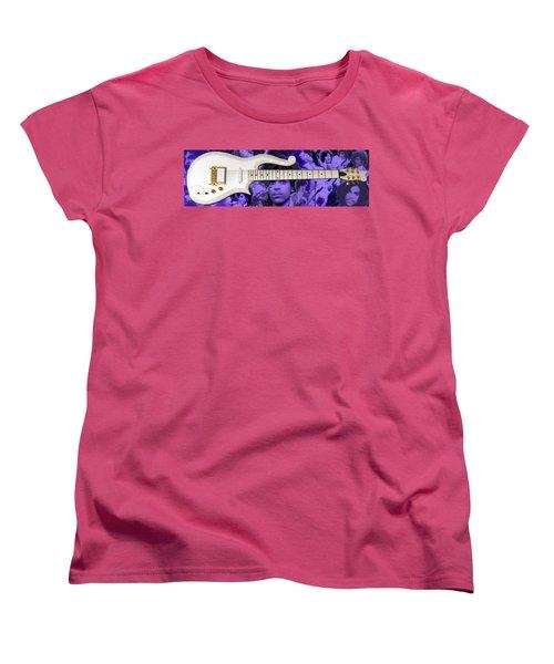 Purple Reign Women's T-Shirt (Standard Cut) by Daniel Rojas
