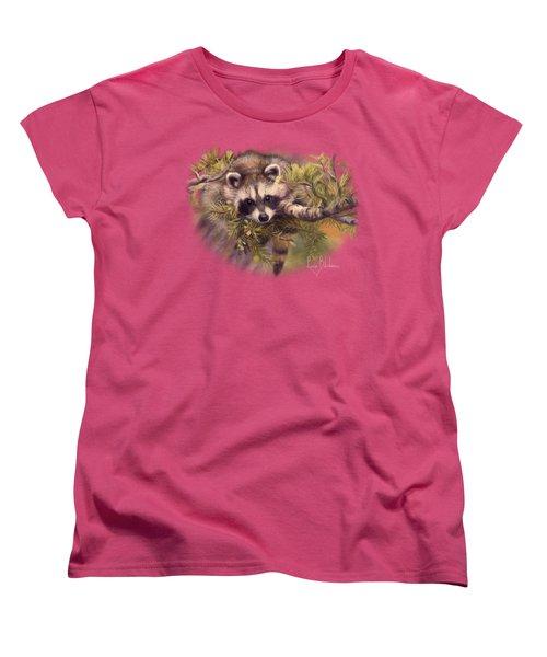 Seeking Mischief Women's T-Shirt (Standard Cut) by Lucie Bilodeau