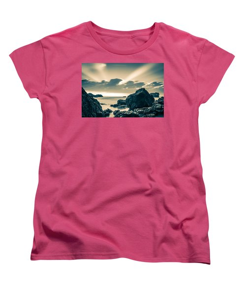 Women's T-Shirt (Standard Cut) featuring the photograph Silver Moment by Thierry Bouriat