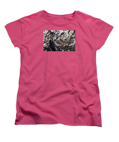Snake In The Shadows Women's T-Shirt (Standard Cut) by Chuck Brown