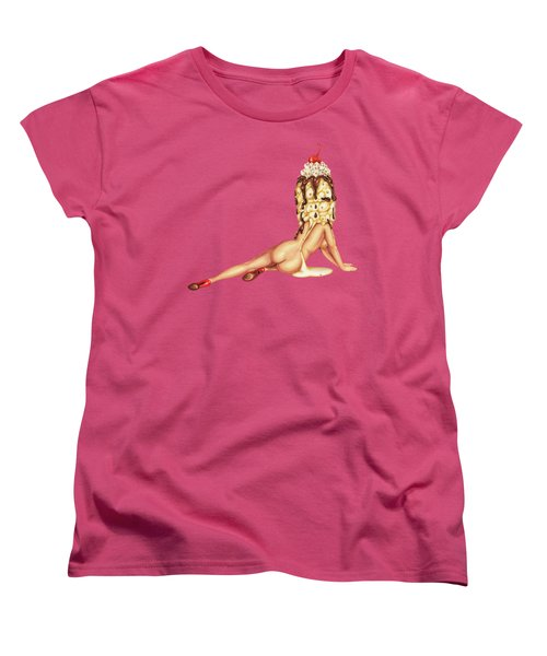 Sundae Best Women's T-Shirt (Standard Cut) by Kelly Gilleran