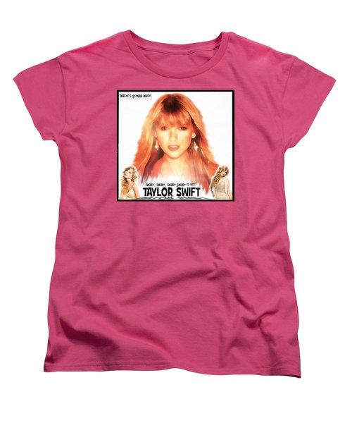 Taylor Swift - Stunning Women's T-Shirt (Standard Cut) by Robert Radmore