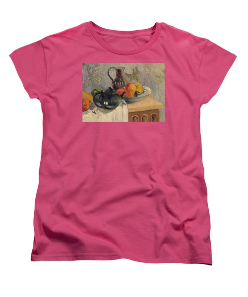 Teiera Brocca E Frutta Women's T-Shirt (Standard Cut) by Paul Gauguin