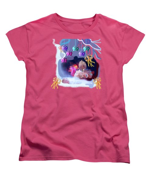 The Real Little Baby Dream Women's T-Shirt (Standard Cut) by Artist Nandika  Dutt