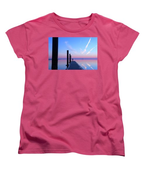 Women's T-Shirt (Standard Cut) featuring the photograph The Silent Man by Thierry Bouriat