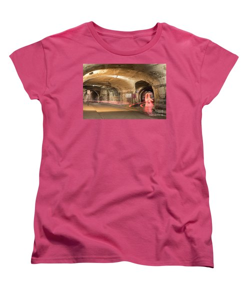 Underground Tunnels In Guanajuato, Mexico Women's T-Shirt (Standard Cut) by Juli Scalzi