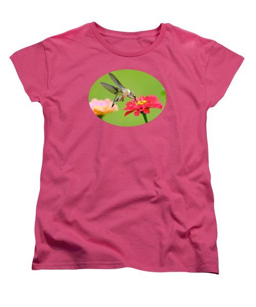 Waiting In The Wings Women's T-Shirt (Standard Cut) by Christina Rollo
