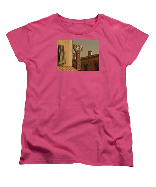 Ybor City Drugs Women's T-Shirt (Standard Cut) by Robert Youmans