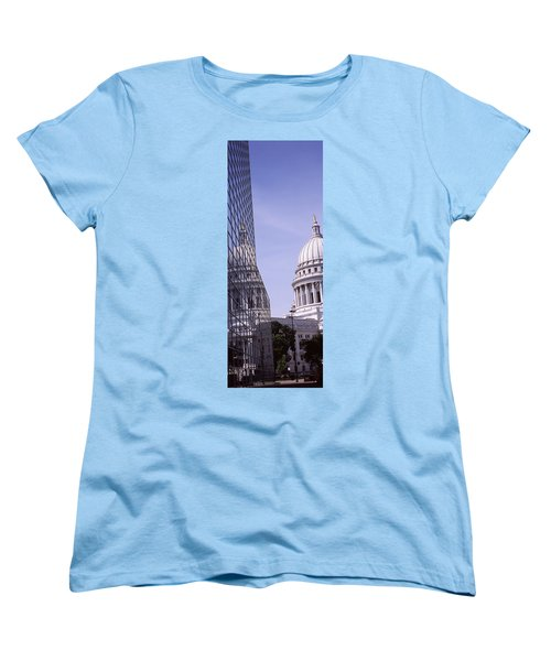 Low Angle View Of A Government Women's T-Shirt (Standard Cut) by Panoramic Images
