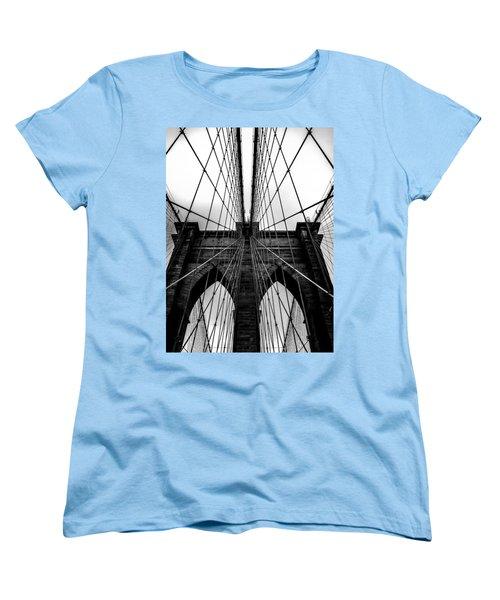 A Brooklyn Perspective Women's T-Shirt (Standard Cut) by Az Jackson