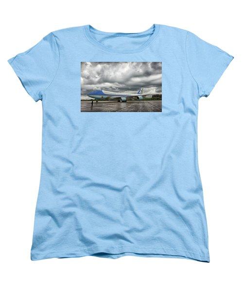 Air Force One Women's T-Shirt (Standard Cut) by Mountain Dreams