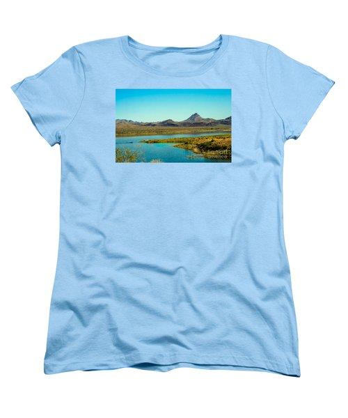 Alamo Lake Women's T-Shirt (Standard Cut) by Robert Bales