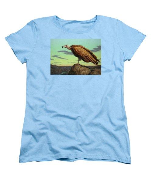 Buzzard Rock Women's T-Shirt (Standard Cut) by James W Johnson