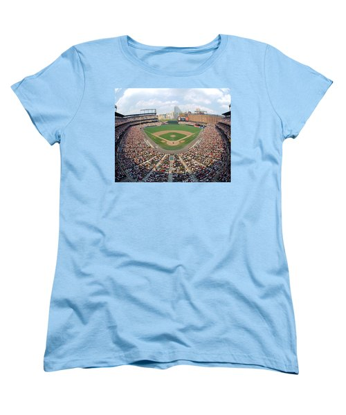 Camden Yards Baltimore Md Women's T-Shirt (Standard Cut) by Panoramic Images